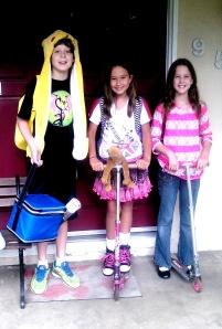 kids start school