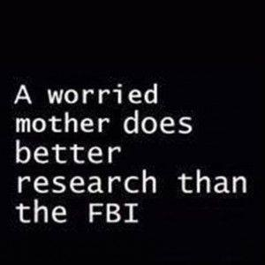 a worried mother